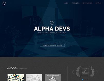 Layout Web Alphadevs