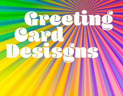 Funky greeting cards