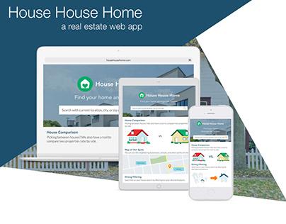 House House Home | Real Estate Web App