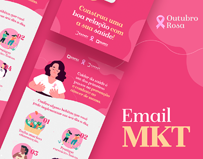 Outubro Rosa Dasart/Simpex | Email Marketing
