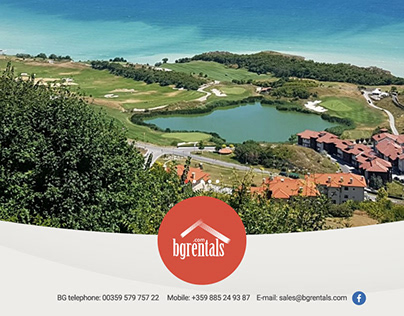 BGRentals web site design
