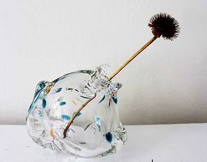 Aquatic Vases-Blown Glass Vases