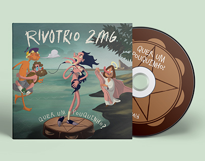 Rivotrio 2mg - Character and Cover Design