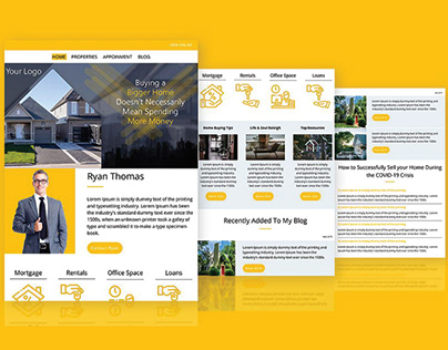 REAL ESTATE AGENT EMAIL TEMPLATE