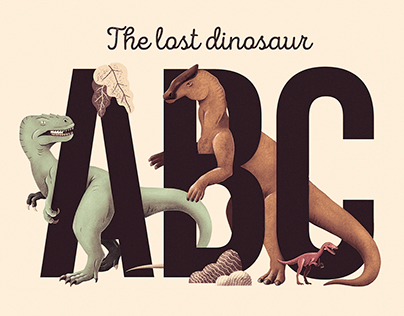The Lost Dinosaur Alphabet