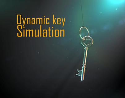 Dynamic Key Simulation