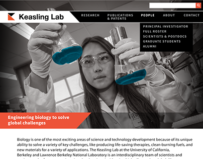 Keasling Lab Website