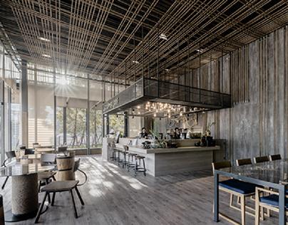 Captain M Café by N7A Architects