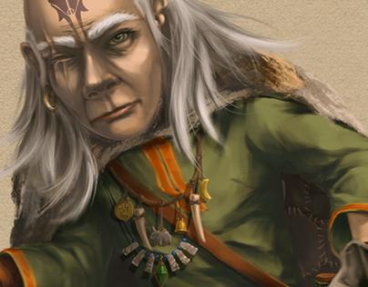 Hobbit-shaman