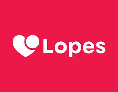 Logo + type adjustments • Lopes Imobiliária