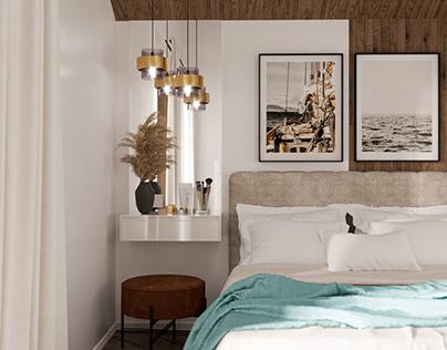 Bedroom design and visualization