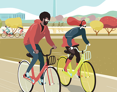 The great bike share bike-off