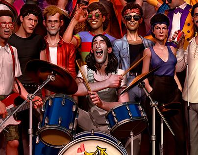 LOBÃO / 80's brazilian rockers