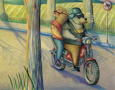 L'orso e i marchingegni