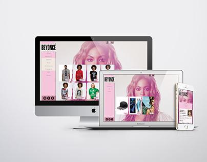 [WEB E-commerce] Beyoncé
