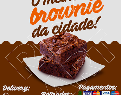 Doces - Brownie