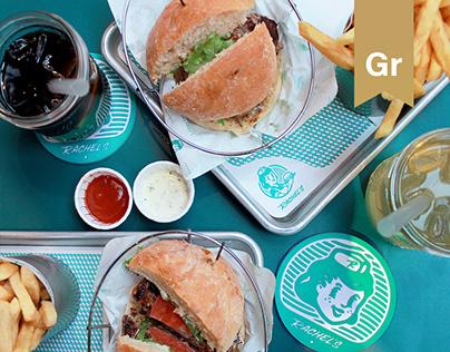 RACHEL'S Burger joint