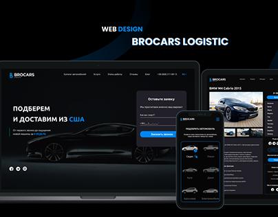Web Design Brocars Logistic