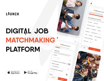 HR app design I Job finder mobile app