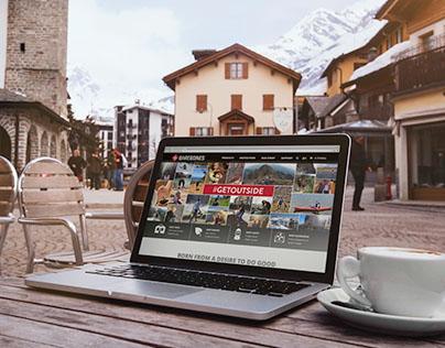 Barebones Living Website Re-Design