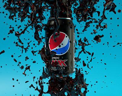 Pepsi Max 3D in Cinema 4D