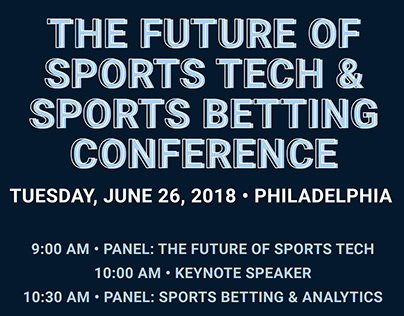The Future of Sports Tech & Sports Betting Conference