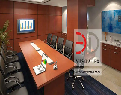 3d Office Conference Room!
