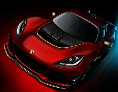 Amazing Lotus Exige 380