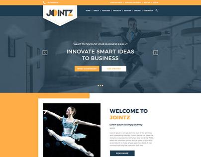 Jointz_Website Layout Design