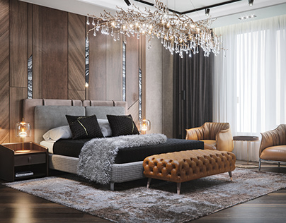 Visualization of a bedroom 25