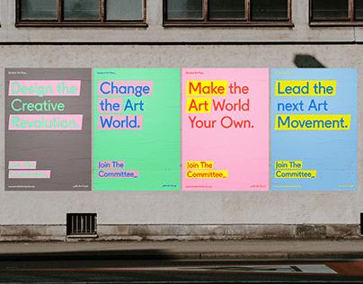 Student Art Pass - Campaign Design