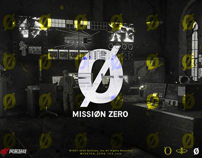 零号任务 Mission Zero LOGO design