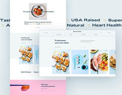 Bluehouse Salmon – Website