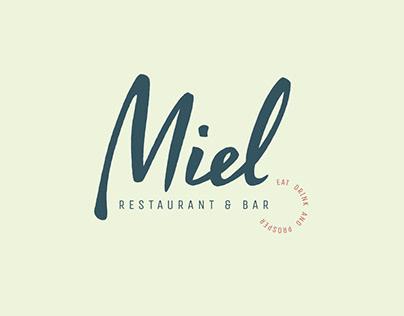Miel Restaurant —Brand Refresh