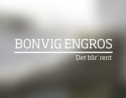 Bonvig Engros - identity 2013