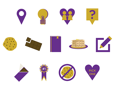 SunSpire Chocolate: Icons and Illustrations