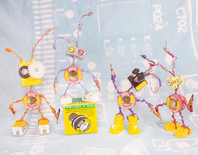 Hildegard Robot Sculpture