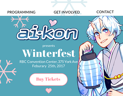 Winterfest Redesign