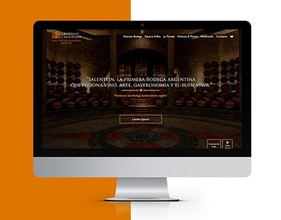 Bodegas Salentein | Web Design