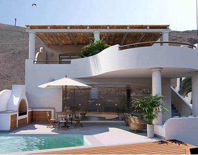Partial reform of beach house