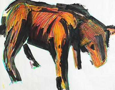 Evil Goat - Illustration