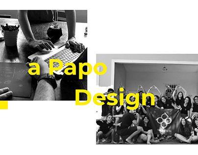 Manual da Marca - Papo Design