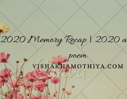 2020 Memories blog