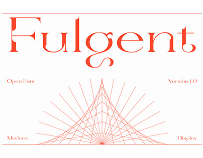 Fulgent - Free High Contrast Serif Font