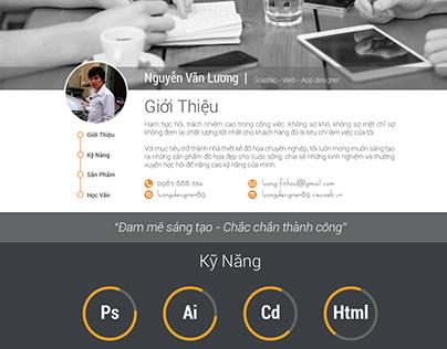 CV - Lương Designer