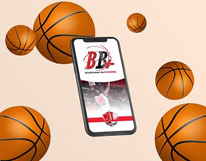 Mobile App for Basketball Club network - UI/UX Design