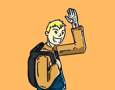 Young Naruto Walks