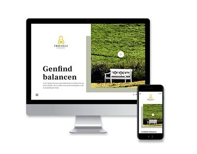 Trivselscenteret webdesign