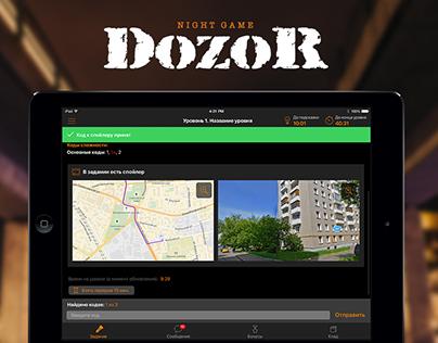 DozoR iPad app