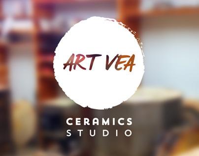 ArtVEA - Brand identity
